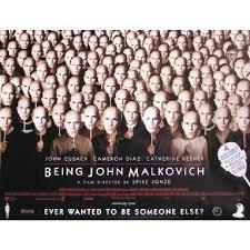 """BEING JOHN MALKOVICH - AFFICHE 27""""X36"""""""