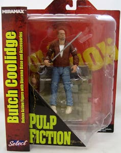 "PULP FICTION SELECT SERIES 1 ""BUTCH COOLIDGE"" ACTION FIGURE"