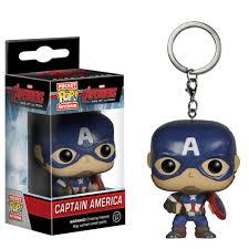 Funko Pocket POP Keychain: Marvel - Avengers 2 - Cap America Action Figure