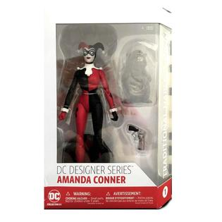 DC DESIGNER SERIES~AMANDA CONNER~TRADITIONAL HARLEY QUINN FIGURE