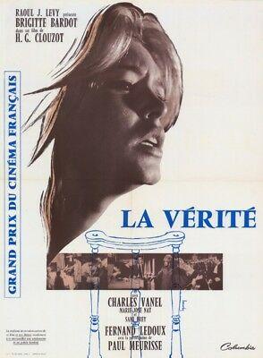 """LA VERITE- AFFICHE 17X25"""""""