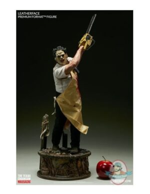 Leatherface Premium Format Statue By Sideshow Collectibles