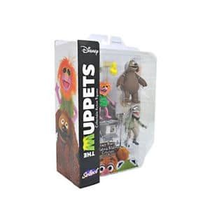 Rowlf, Crazy Harry & Mahna Mahna - The Muppets Select Action Figures
