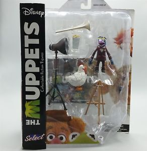 Muppets Gonzo Camilla Action Figure Playset Diamond Select Toys