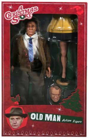 """Neca A Christmas Story Old Man Clothed 8"""" Action Figure"""