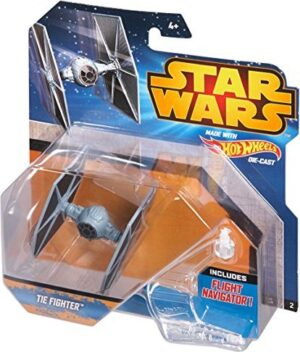 Hot Wheels Star Wars Mini Tie Fighter with Stand