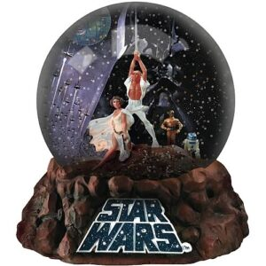 Star Wars Commemorative Water Globe