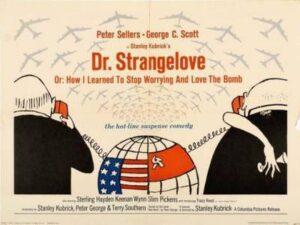 """DR. STRANGELOVE - AFFICHE 27""""X36"""""""
