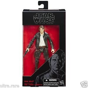 Star Wars The Force Awakens Black Series 6 Inch Han Solo