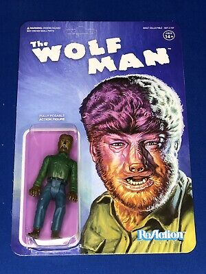 WOLF MAN REACTION FIGURES, THE