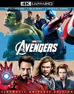The Avengers 4K Ultra HD Blu-Ray à vendre