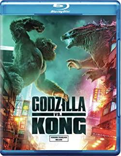 Godzilla VS Kong Blu-Ray en location