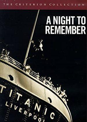A Night to Remember dvd films à vendre