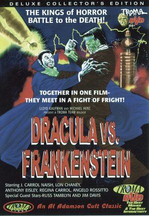 Dracula Vs. Frankenstein Films DVD à vendre.
