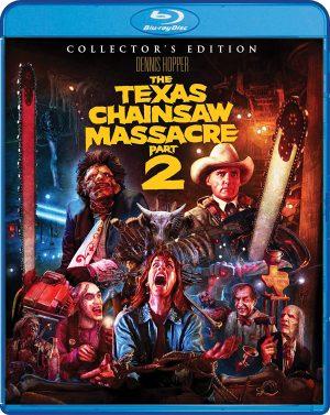 Texas Chainsaw Massacre Part 2 DVD films à vendre