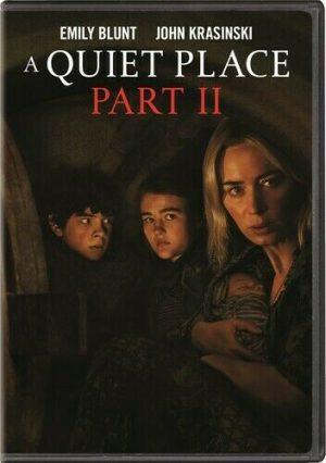 A QUIET PLACE PART II DVD à louer