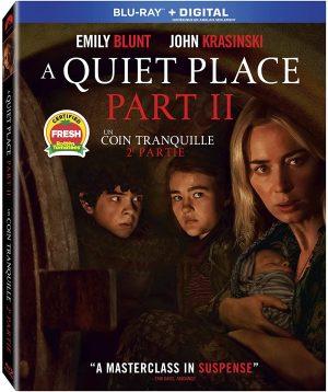 A Quiet Place Part II films Blu-Ray à louer.