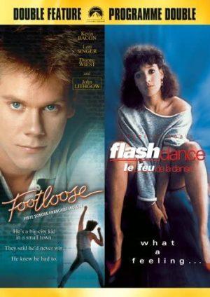 Footloose / Flashdance DVD Films à vendre.