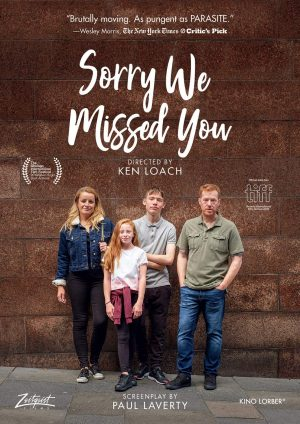 SORRY WE MISSED YOU DVD FILMS À LOUER
