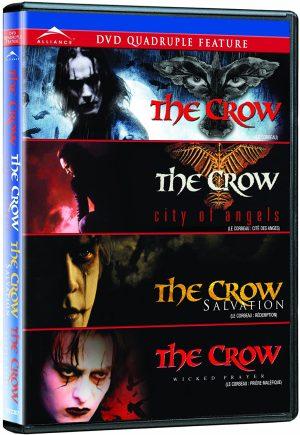 The Crow Quadruple Feature DVD Films à vendre.