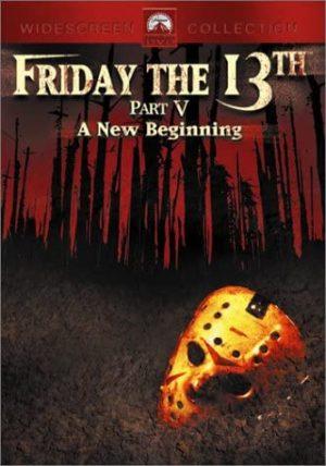 friday the 13 part V dvd film à vendre