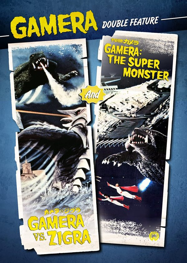 Gamera Double Feature DVD Films à vendre.