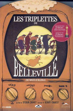 Les triplettes de belleville dvd films à vendre