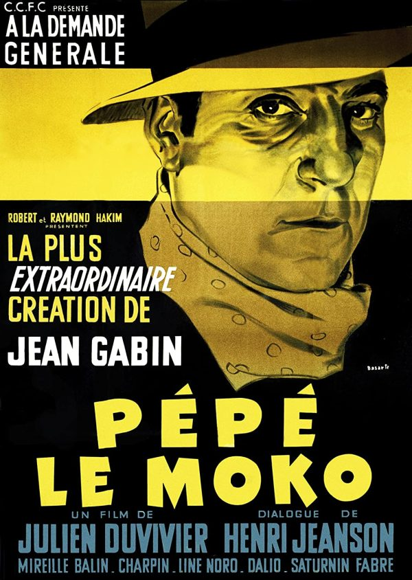 Pépé le moko dvd films à vendre