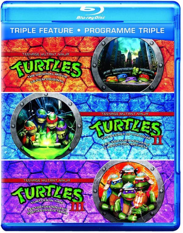 Turtles triple feature dvd films à vendre