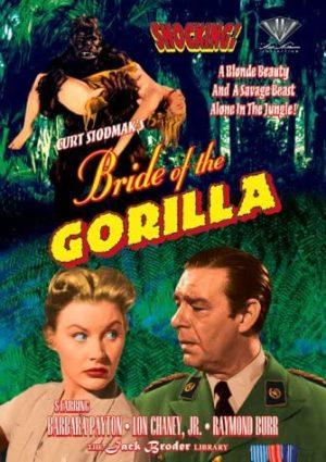 bride of the gorilla dvd films à vendre