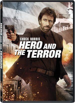 hero and the terror dvd films à vendre