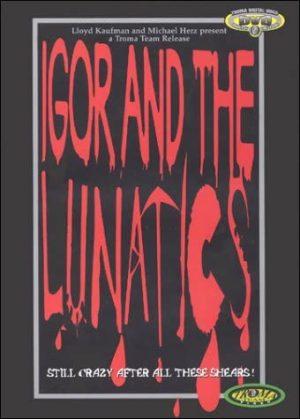 igor and the lunatics dvd films à vendre