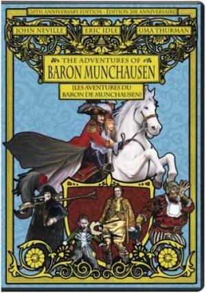 les aventures du baron de munchausen dvd films à vendre