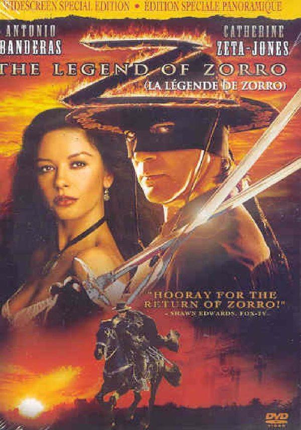the legend of zorro dvd films à vendre