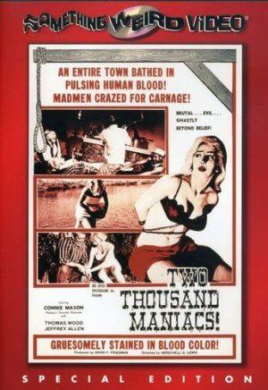 two thousand maniacs dvd films à vendre